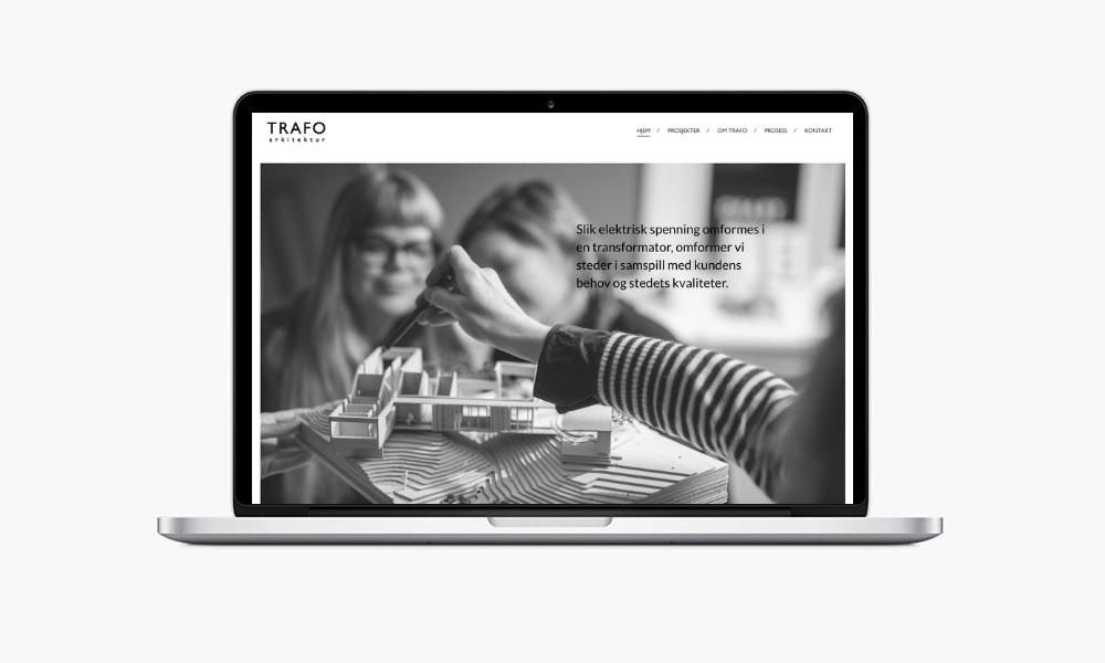 Webdesign fra CC BERLI Kommunikasjon AS, Arendal